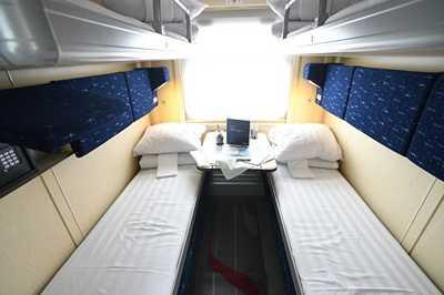 Russian Railways presents modernized second class cabin