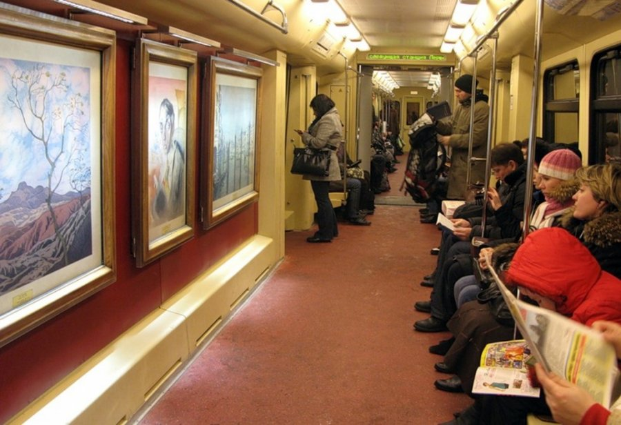 New decorated train to be launched in Moscow metro