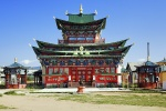Ivolginsky Datsan, the Centre of Buddhist Culture on Trans-Siberian