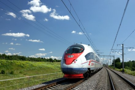 The number of Sapsan train passengers has grown by third