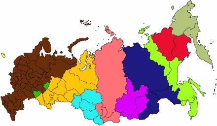 Time Zones Change in Several Regions of Russia
