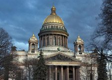 St. Petersburg  City tour with transport incl. St. Isaacs Cathedral