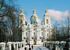St. Petersburg  Cathedrals of St. Petersburg  w/transport