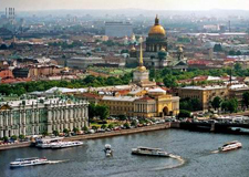 St. Petersburg  Private Helicopter tour with transport