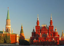 Moscow  Kremlin, Red Square and Cathedrals w/transport