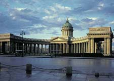 St. Petersburg  City walking tour