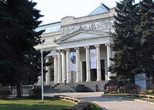 Moscow  Pushkin Museum of Fine Arts tour w/transport