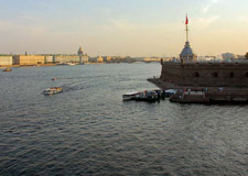 St. Petersburg  City tour w/transport incl. Peter & Paul Fortress and St. Isaa�s Cathedral
