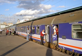 Polonez: Moscow - Warsaw train