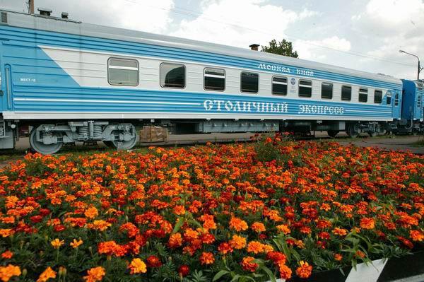 Жюри выставляется самый молодой фирменный поезд Московской железной дор…