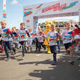 "The Charity Run ""Reaching the Goal!"" in Moscow"