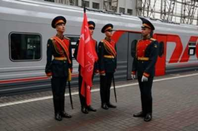 """Memory Train"" going to Bryansk"