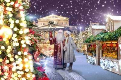 Moscow's Journey to Christmas