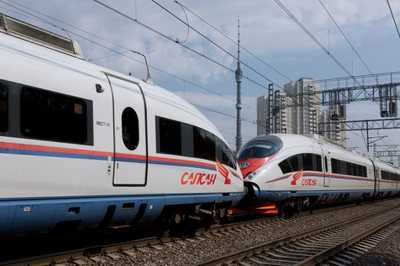Additional Sapsan Trains in May