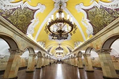 Moscow Metro walking tour