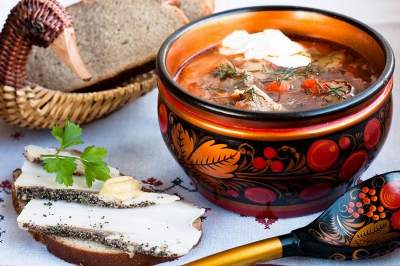 Russian Cooking Class. Soups
