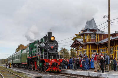The steam trains are again in use in Tver region