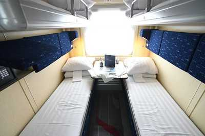 Russian Railways presents modernized second class cabin