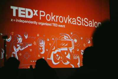 The Sapsan train became a venue of the TEDx Conference