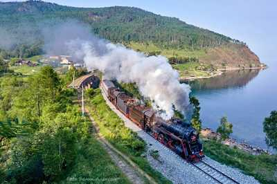 New Tourist Train on Trans-Siberian Railway