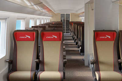 Modernized Sapsan Train Traveling from St Petersburg to Nizhny Novgorod will be introduced in December 2019