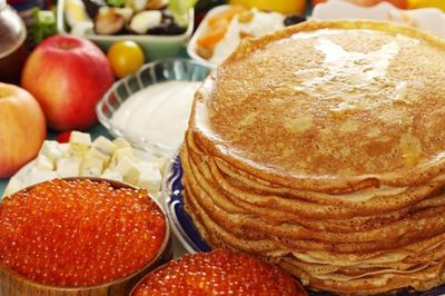 A wide selection of pancakes will be offered to passengers on Sapsan trains during the week of Maslenitsa