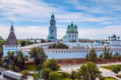 Astrakhan - Moscow cruise