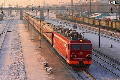 Vostok train