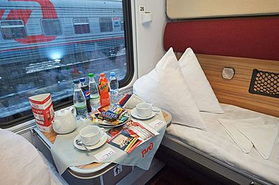Moscow - Berlin - Paris train
