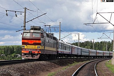 Pomorie (Arkhangelsk) train