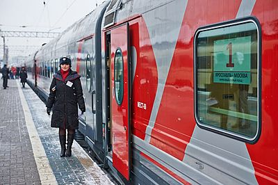 Yaroslavl - Moscow train