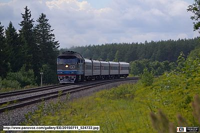 Baltic Express train