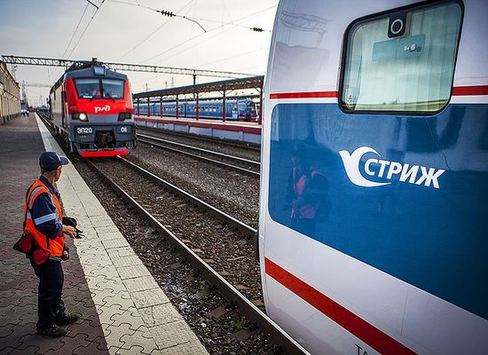 "Train ""Strizh"" carried its millionth passenger"