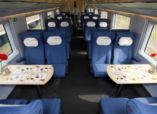 Sapsan trains have developed a special menu for the FIFA-2018