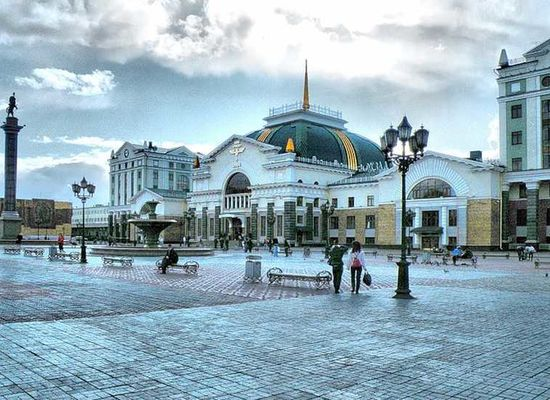 Krasnoyarsk renovates the Railway Station for the XXIX Winter Universiade 2019