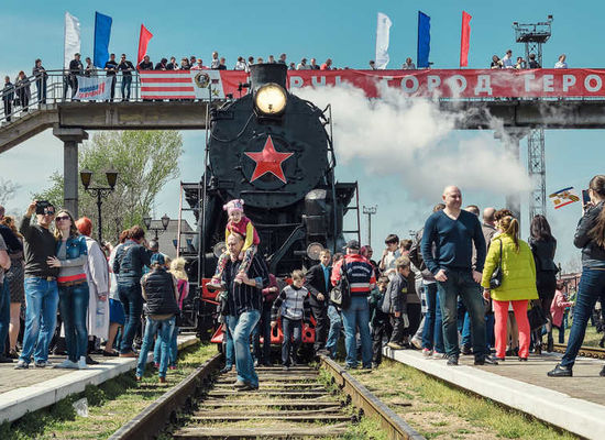 The Victory Train to depart from Rizhsky station 9th of May