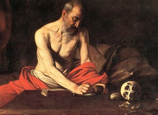 Caravaggio works in Moscow