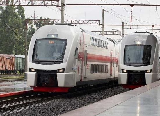 New Train from Batumi to Sochi