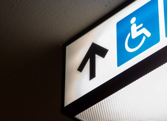 The waiting lounge for the people with disabilities has opened at Kazansky Railway Station