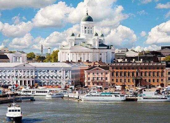 Travelling from Helsinki to St Petersburg