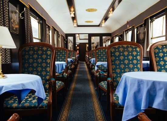 Meals on Russian trains