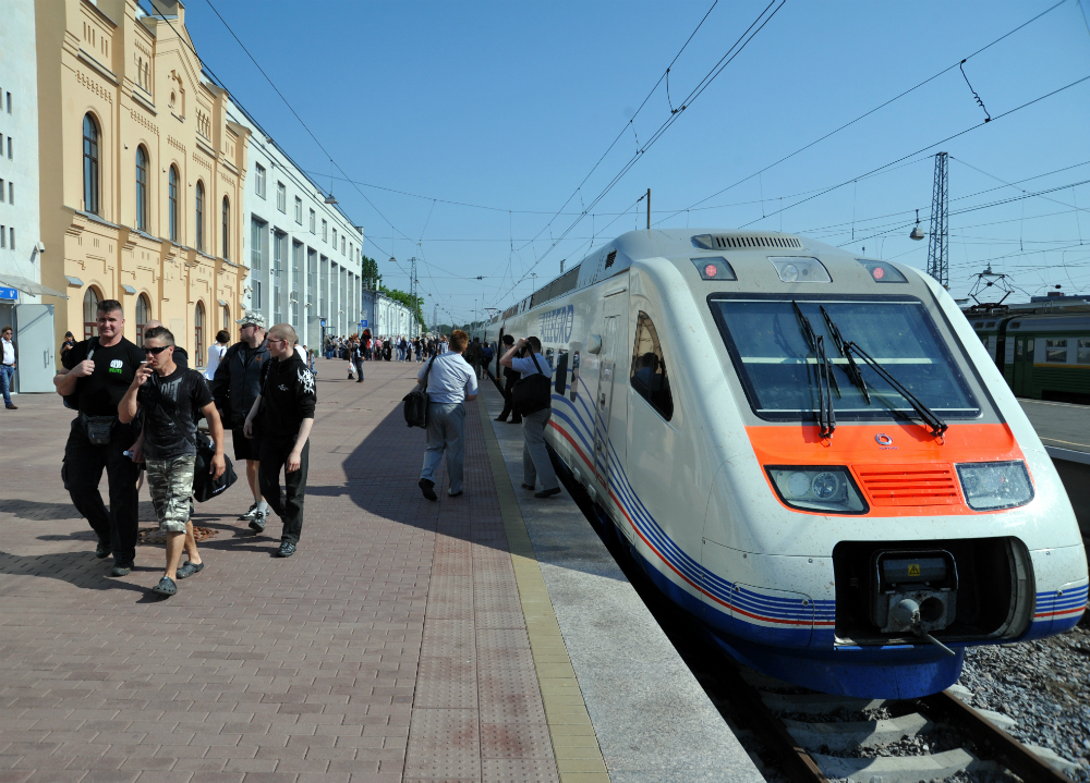 Europe's first duty-free shop at a railway station was opened in St. Petersburg