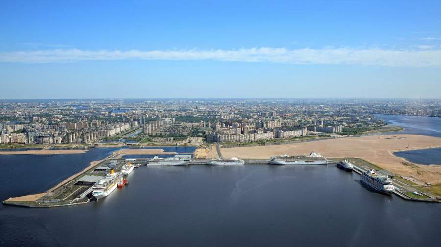 "The Passenger port of St. Petersburg ""Marine Facade"" has hosted 247 cruise ships"