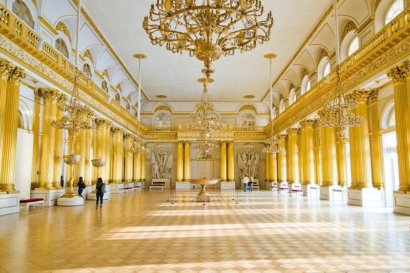 Saint Pétersbourg  Excursion à l�Ermitage sans transport