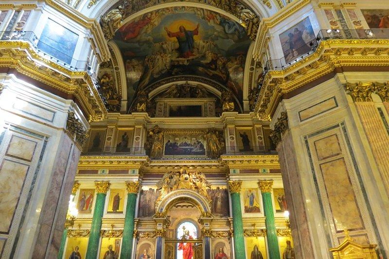 Saint Pétersbourg  Excursion à la Cathédrale St-Isaac sans transport