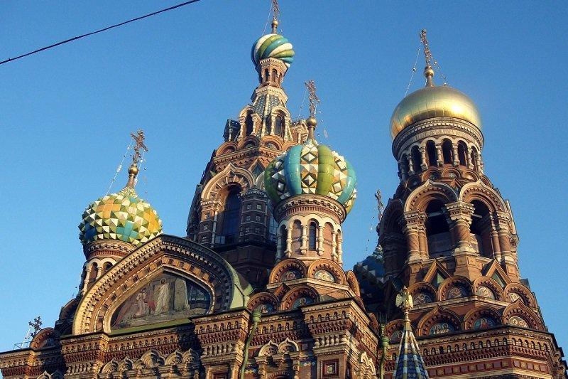 Saint Pétersbourg  Excursion sans transport à l�Eglise du Sauveur