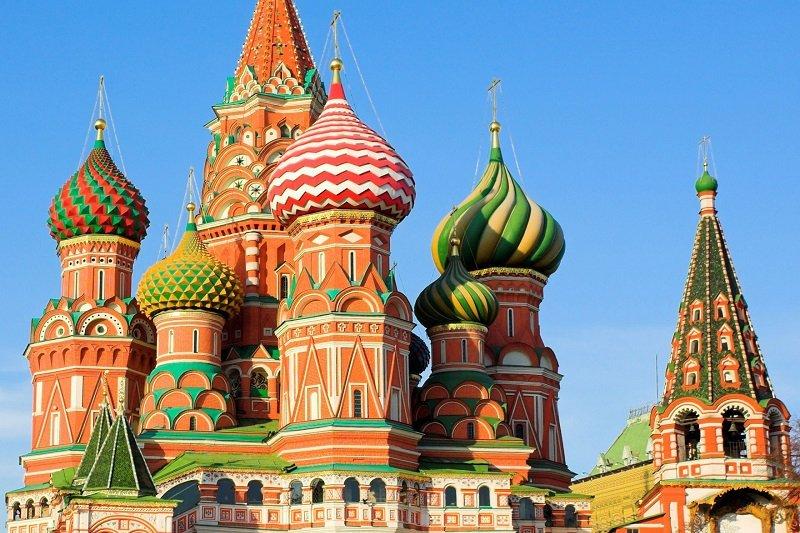 Moscou  Tour de ville y compris visite de la Cathedrale St-Basile et la Place Rouge