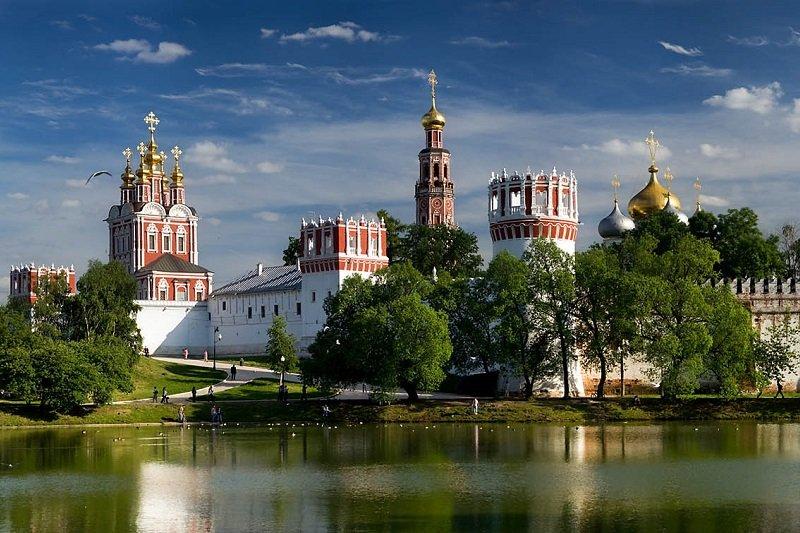 Moscou  Tour du Couvent Novodevichy avec transport
