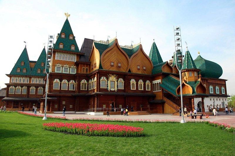 Moscou  Tour de Kolomenskoe avec transport