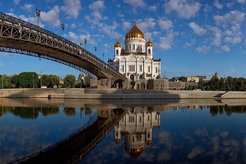 Mosca  Tour di Mosca senza trasporto